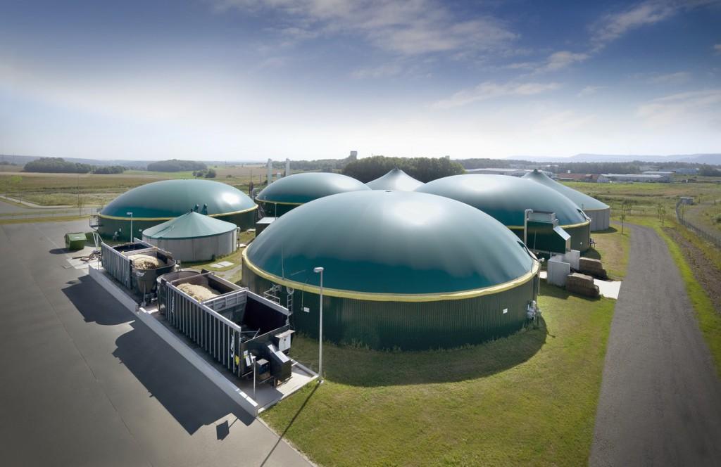 Biogasanlage-bild