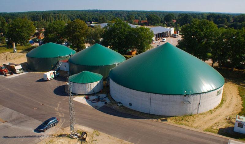 Biogasanlagen-luftbild